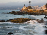 Surf at Playa Los Artistas  Wulff Castel and Resort Hotels  Vina Del Mar  Chile