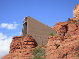 Chapel of the Holy Cross by Marguerite Brunswig Staude  Red Rock Country  Sedona  Arizona  Usa