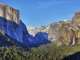 Yosemite Valley from Tunnel View  Yosemite National Park  California  Usa