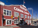 Cannery Row Area  Monterey  Central Coast  California  Usa