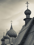 Nativity of the Virgin Cathedral and Saint Nicholas Church  Suzdal Kremlin  Vladimir Oblast  Russia