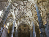 15th Century Interior of the Church of Santa Maria  Lisbon  Portugal