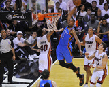 Miami  FL - June 21:  Miami Heat and Oklahoma City Thunder Game Five  Kevin Durant