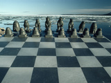 Chess Figures Carved from Soapstone Reflect Inuit Skill and Culture