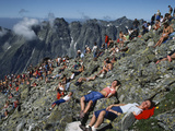 Young Communists Climb Rysy Peak to Commemorate Lenin's Ascent