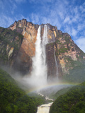 Venezuela  Guayana  Canaima National Park  View of Angel Falls from Mirador Laime