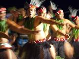 Polynesian Dancers  Rarotonga  Cook Islands  South Pacific