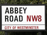 Abbey Road Is Home to the Famous Tone Studio Where the Beatles Songs Where Recorded and the Name of