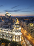 Spain  Madrid  Metropolis Building and Gran Via