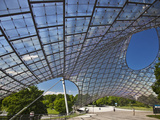 Tensile Roof Structure of the Munich Olympic Hall  Munich Olympic Park  Gern Munich  Bayern  German