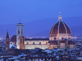 Italy  Florence  Western Europe  the 'Duomo' of Which the Cupola Is Designed by Famed Italian Archi
