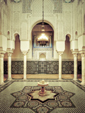 Morocco  Meknes  Medina (Old Town)  Moulay Ismal Mausoleum
