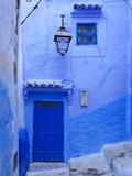 Morocco  Rif Mountains  Chefchaouen  Medina