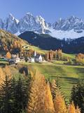 Mountains  Geisler Gruppe/ Geislerspitzen  Dolomites  Trentino-Alto Adige  Italy