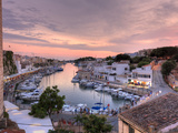 Spain  Balearic Islands  Menorca  Ciutadella  Historic Old Harbour and Old City Centre