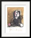 Femme Assise dans un Fateuil