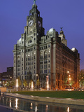 The Royal Liver Building Is a Grade I Listed Building Located in Liverpool  England  Pier Head