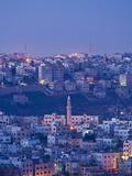 Jordan  Amman  Elevated View of Jebel Amman