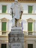 Italy  Veneto  Vicenza  Western Europe  Monument to One of the Great Symbolic Figures of Italian Un