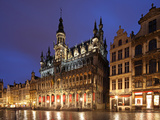The Maison Du Roi (King's House) on the Famous Grande Place in the City Centre of Brussels  Belgium