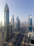 Uae  Dubai  Sheikh Zayed Road (Highway E11)