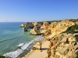 Marinha Beach Cliffs Algarve  Portugal