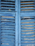 Window Shutters in Ibiza Town  Ibiza  Balearic Islands  Spain
