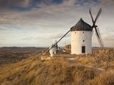 Spain  Castile-La Mancha Region  Toledo Province  La Mancha Area  Consuegra  Antique La Mancha Wind