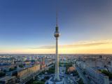 Germany  Berlin  Alexanderplatz  Tv Tower (Fernsehturm)