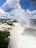 Iguacu (Iguazu) Falls  Cataratta Foz Do Iguacu  Parana  Iguazu National Park  Brazil