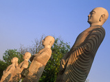 India  Bihar  Bodh Gaya (Aka Bodhgaya)  Statues of Bodhisattvas  or 'Enlightened Beings'  Garden in