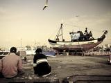 Morocco  Essaouira  Old Medina  Harbour