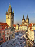Europe  Czech Republic  Central Bohemia Region  Prague  Prague Old Town Square  Tyn Church