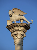 Italy  Veneto  Vicenza  Western Europe  'Leone Di San Marco' a Symbol Dating from Glorious Times of