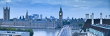Big Ben  Houses of Parliament and Westminster Bridge  London  England  Uk