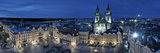 Czech Republic  Prague  Stare Mesto (Old Town)  Old Town Square and Church of Our Lady before Tyn