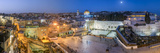 Israel  Jerusalem  Old City  Jewish Quarter of the Western Wall Plaza  with People Praying at the W