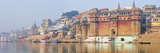 The Ghats Along the Ganges River Banks  Varanasi  India