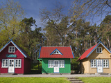 Lithuania  Western Lithuania  Curonian Spit  Nida  Village House Detail