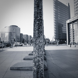 Remaining Sections of the Berlin Wall at Potsdammer Platz  Berlin  Germany