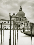 Santa Maria Della Salute  Grand Canal  Venice  Italy