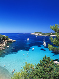 Coast Nearby Portinatx  Ibiza  Balearic Islands  Spain