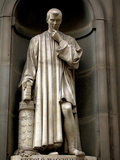 Italy  Florence  Western Europe  Statue of Niccolo Machiavelli Mostly known for Writing 'The Prince