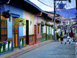 Guatape  Colombia  Outside of Medellin  Small Town known for its 'Zocalos' Panels of Three Dimensio