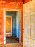 Desert Taking over Mining Ghost-Town of Kolmanskop  Near Luderitz  Southern Namibia  Africa