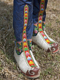 Tsholham  Traditional Knee-Length Boots That are Worn by Bhutanese Men During Important Ceremonial