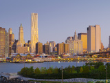 USA  New York  Lower Manhattan  Tallest Building Is Beekman Tower (By Frank Gehry)  with Woolworth
