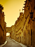 Avenue of the Knights (Ippoton Street)  Rhodes Town  Rhodes  Greece