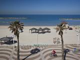 Israel  Tel Aviv Beach Walkway