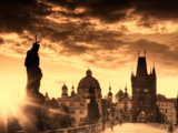 Czech Republic  Prague  Stare Mesto (Old Town)  Charles Bridge